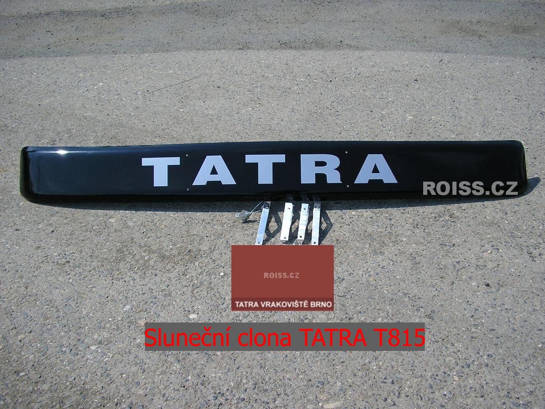 Sluneční clona TATRA T 815